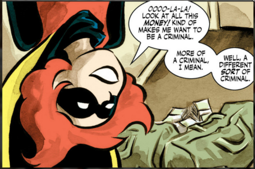 The charming Bandette