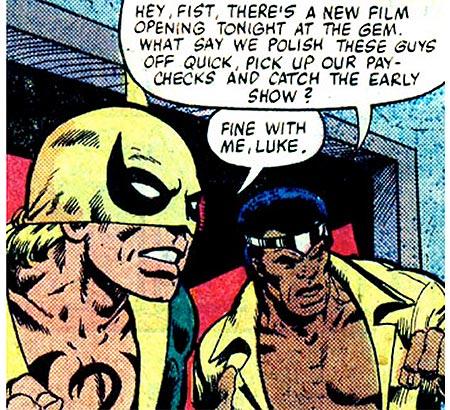 powerman iron fist movie