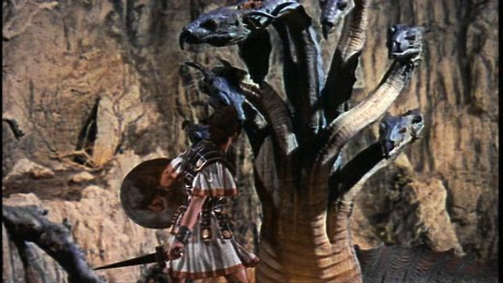Jason faces off against the Hydra--more accurately a Heracles trial.