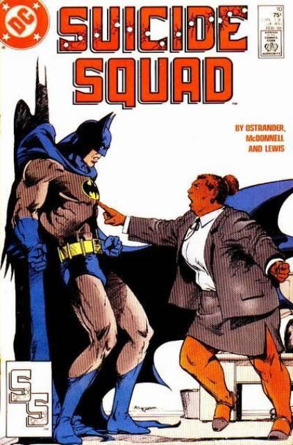 Suicide Squad Waller Batman