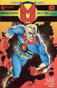 We discovered Mr. Basu likes Miracleman from his interview at Too Busy Thinking About My Comics