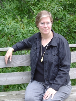 Lois McMaster Bujold. Photo by Carol Collins