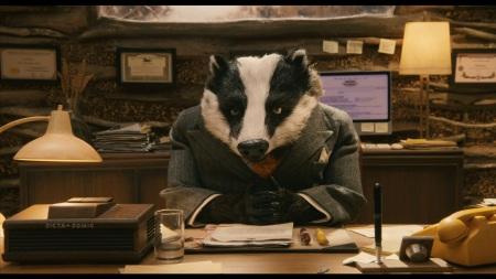 fantastic mr fox badger