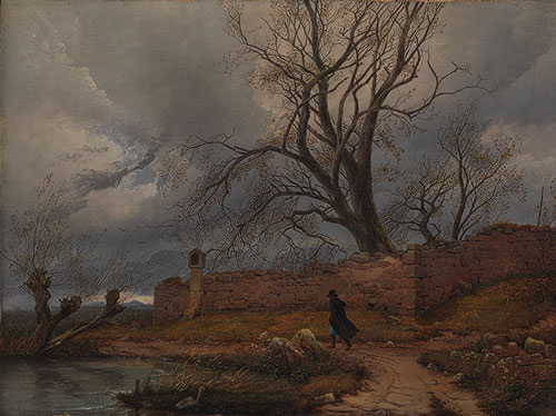 wanderer in the storm