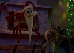 Creepy Santa Jack Skellington