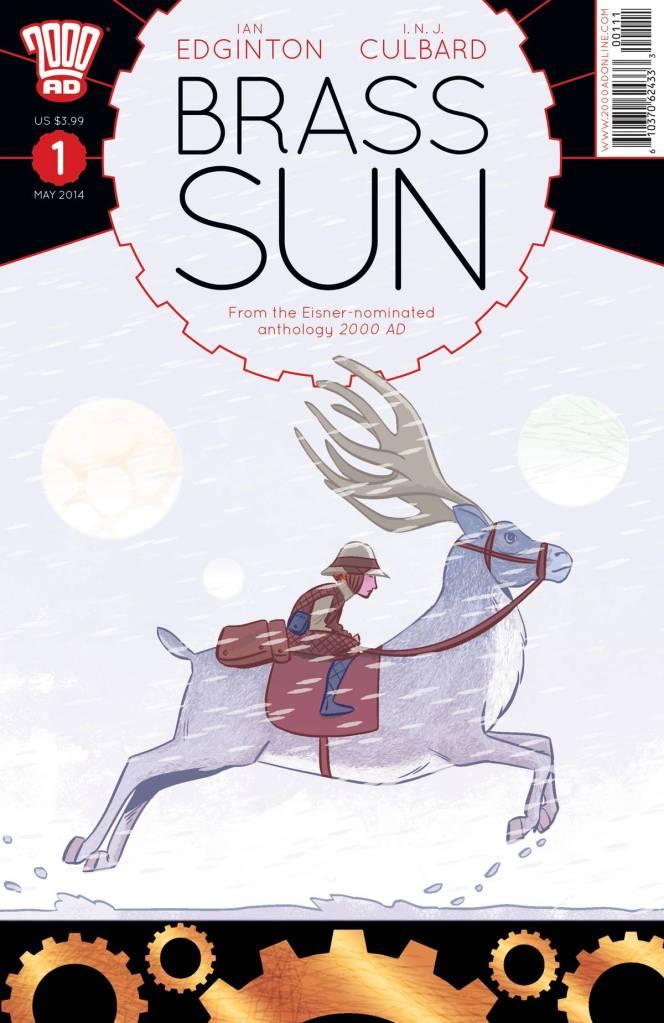 Brass Sun 1 cover