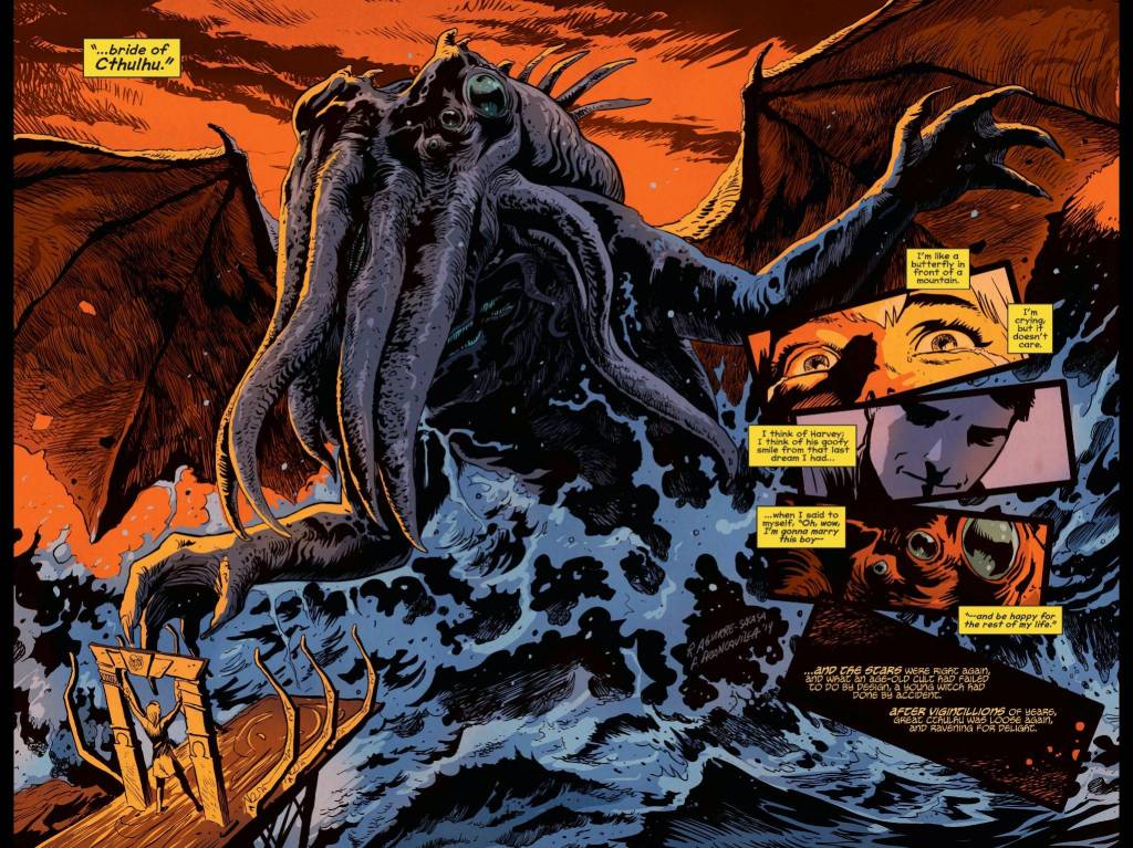 afterlife with archie cthulhu