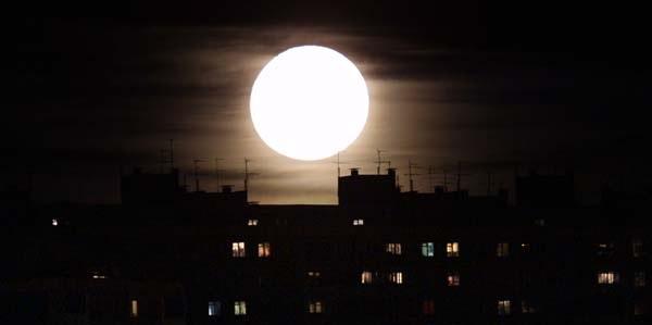 The Man-Moth's moon