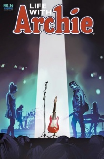 "Fiona Staples' variant cover for ""The Death of Archie"""