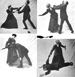 Miss Sanderson and the Womanly Art of Parsol Self-Defense
