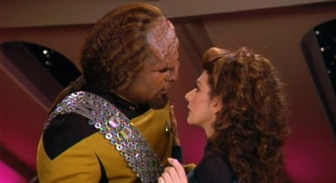 worf and troi