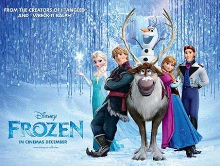 frozen 2015 poster