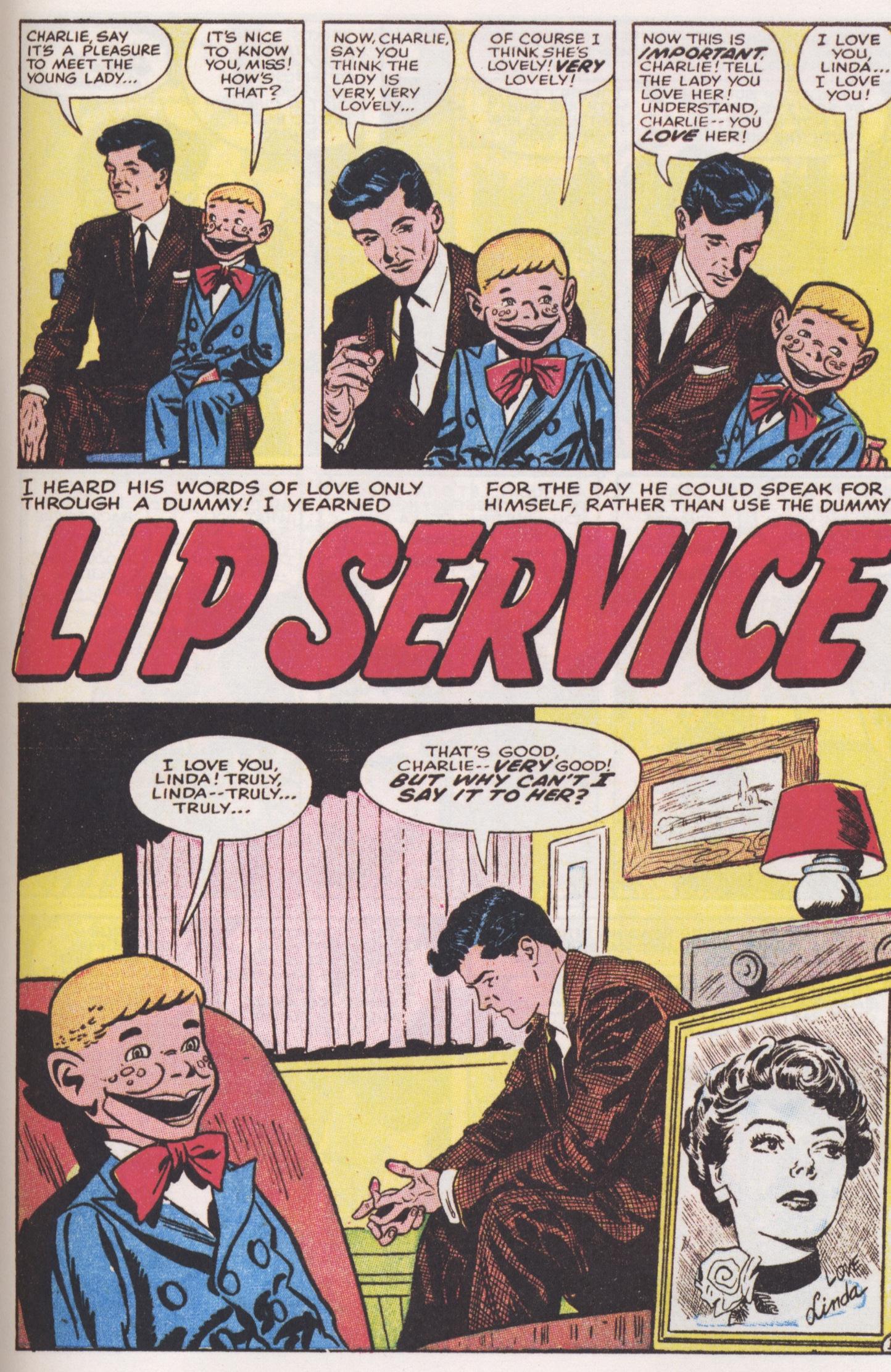 weird romance lip service 2