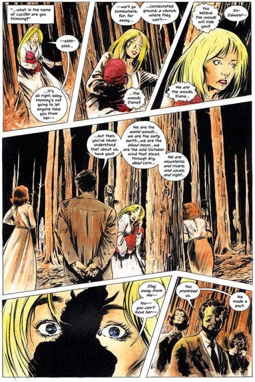 tcas diana the woods