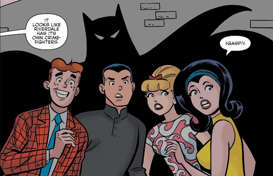 archie meets batman 66 bat shadow