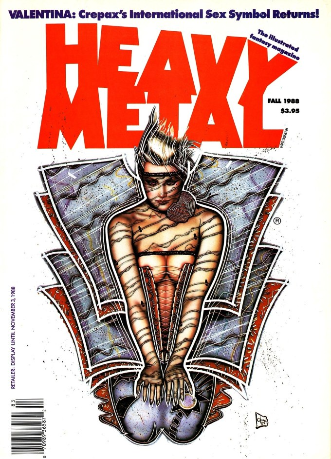 Fall, 1988: my first purchased issue of Heavy Metal